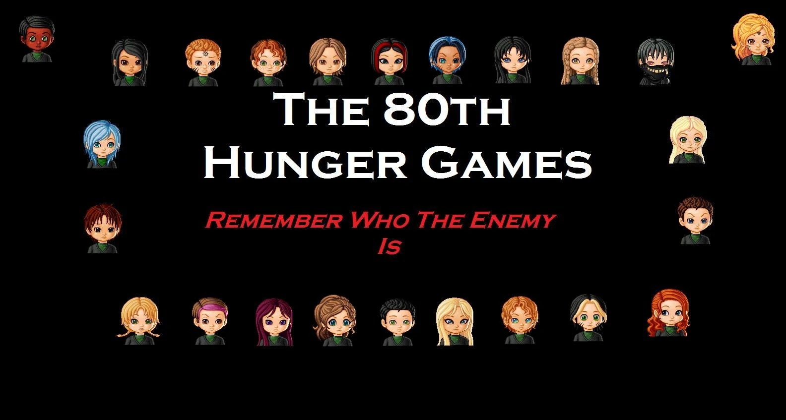 User Blog Kaeghan Is A Tribute The 80th Hunger Games My Final Games