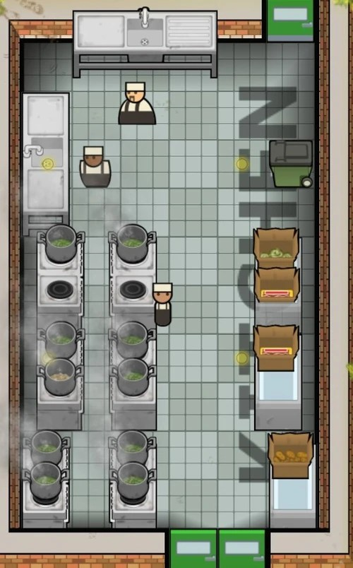 Kitchen Prison Architect Wiki Wikia
