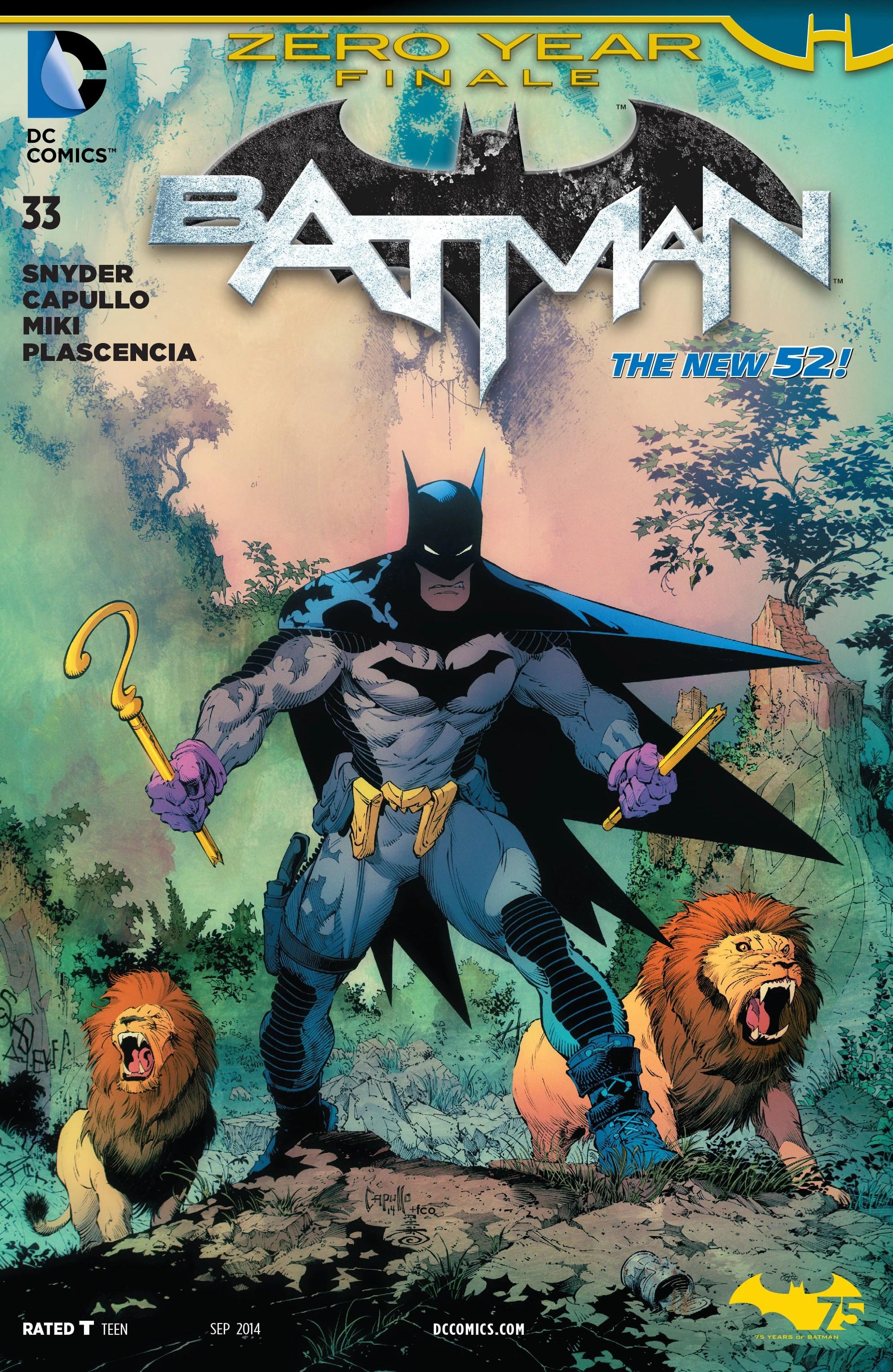 Batman Volume 2 Issue 33 Batman Wiki