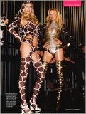 Victoria's Secret Girls Gone Wild posing in lingerie in GQ magazine UK - Hot Celebs Home