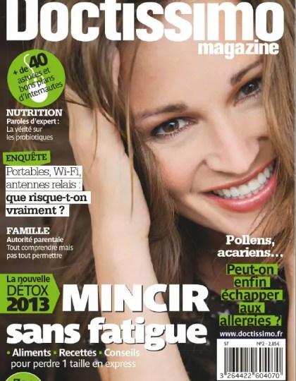 Doctissimo Magazine N°2 Avril Mai 2013