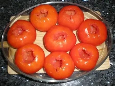 Tomates vacíos