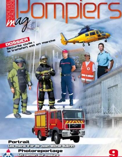 Pompiers Magazine N°9 Avril 2013