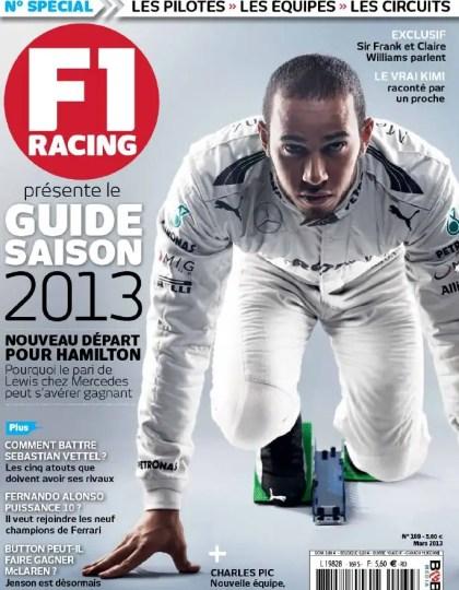 F1 Racing N°169 Mars 2013