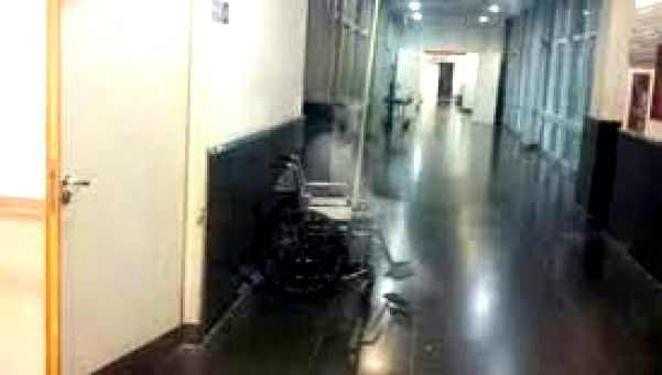 conmocionhospitalrosari - Conmoción en hospital de Argentina por la aparición de un fantasma