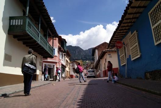 Centro histórico de Bogotá, Colombia. © inesquetzal, vía Flickr.