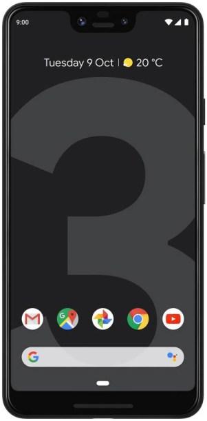 google pixel 3 xl 64gb just black 4gb ram