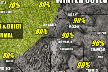 HD Decor Images » Winter 18 19 Long Range Weather Forecast Winter weather outlook for the 18 19 ski season in the Western U S