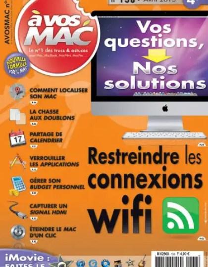A Vos Mac N°138 Avril 2013