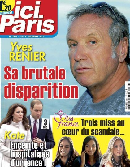 Ici Paris N°3518 du 5 au 11 Décembre 2012