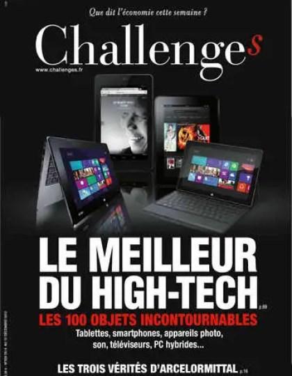 Challenges N°324 du 06 au 12 Décembre 2012