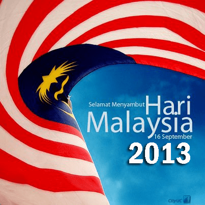 selamat hari malaysia, poster hari malaysia 2013, hari malaysia, hari malaysia semenanjung dan sabah,