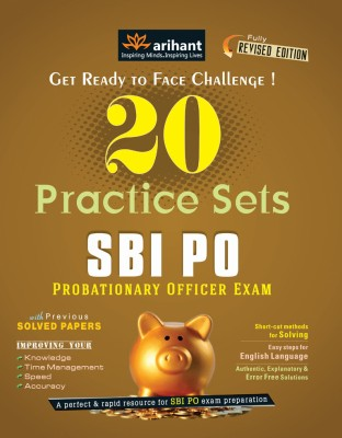 Buy SBI PO Exam - 20 Practice Sets 4th Edition: Book