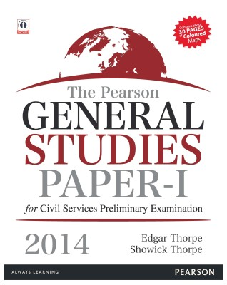Buy The Pearson General Studies Paper I for Civil Services Preliminary Examinations - 2014 1st Edition: Book