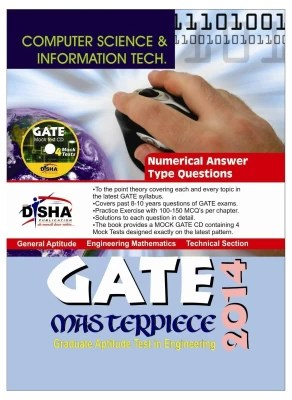 Buy Computer Science & Information Technology GATE Masterpiece 2014 with CD 1st Edition: Book