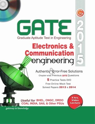 Buy GATE 2015 - Electronics & Communication Engineering (With DVD) 12th Edition: Book