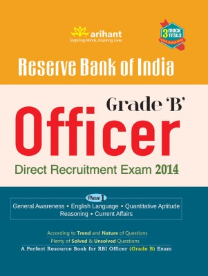 Buy Reserve Bank of India Officer Grade 'B' Direct Recruitment Exam 2014 4th Edition: Book