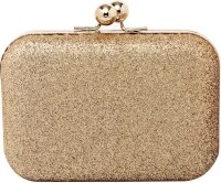 20Dresses Women Casual Gold Metal Clutch