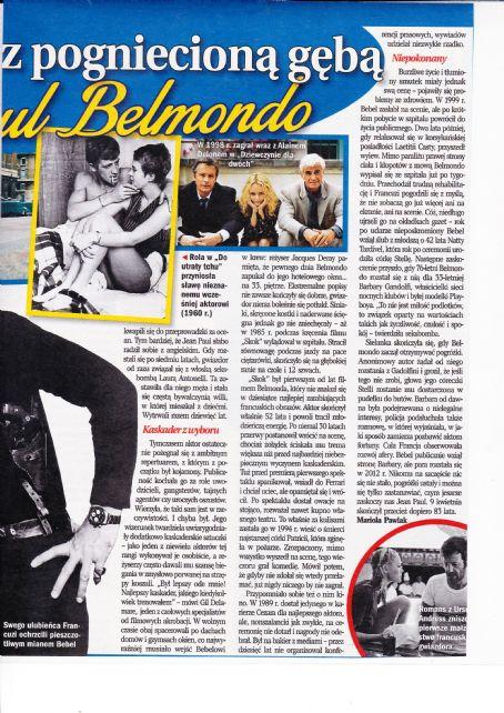 Jean-Paul Belmondo - Retro Magazine Pictorial [Poland] (April 2016)