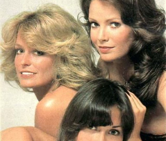 Jaclyn Smith Farrah Fawcett And Kate Jackson In Charlies Angels Photoshoot