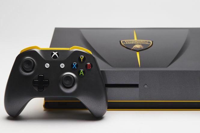 Kolejna ekskluzywna wersja Xbox One S - tym razem w stylu Lamborghini Centenario - obrazek 2