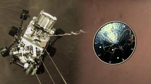 지구에 온 '화성의 바람 소리'… 탐사 로버 착륙 영상 공개