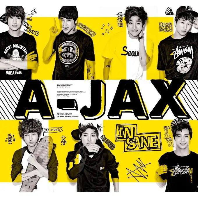 [Mini Album] A-JAX - Insane [2nd Mini Album]