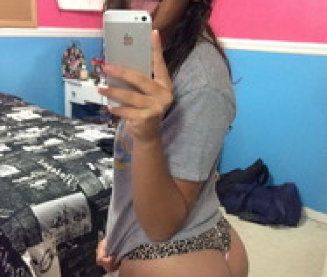 She Is An American Hispanic Young Teen Posing Semi Nude Or Naked Showing Off Her Amazing Bubble Butt Not Sure In Which Social Media Was This Pictures