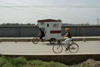 camperbike3 - Camper bike, la bicicleta caravana y casa portatil mas eficiente