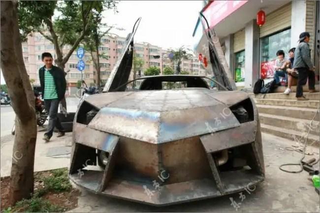 006nmu - Chino Entusiasta construye Lamborghini Reventon