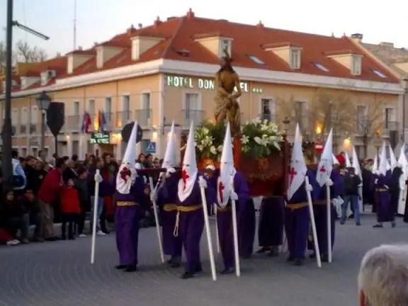 Procesiones de Semana Santa en Aranjuez 2013
