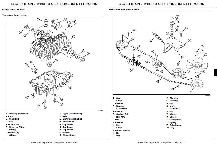 john deere rx95 wiring diagram