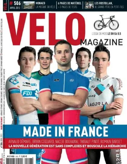 Velo Magazine N°506 Avril 2013