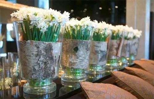 Arte floral de Donna Stain en el Hotel Arts