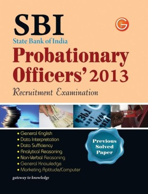 Buy SBI State Bank of India Probationary Officers' 2013 Recruitment Examination : Previous Solved Papers PB 11th Edition: Book