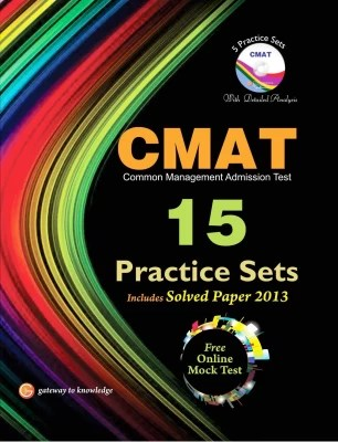 Buy CMAT 15 Practice Sets Includes Solved Paper 2013 with CD 3rd Edition: Book
