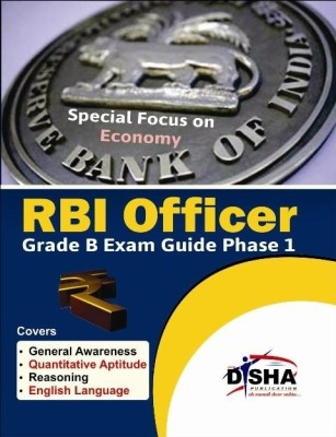 Buy RBI Officer Grade B Exam Guide Phase 1 : Special Focus on Economy 1st Edition: Book