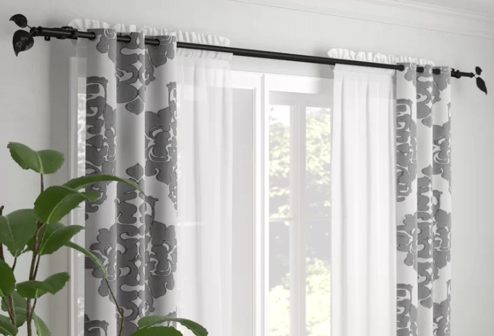 curtain rod is to choose roman rod or
