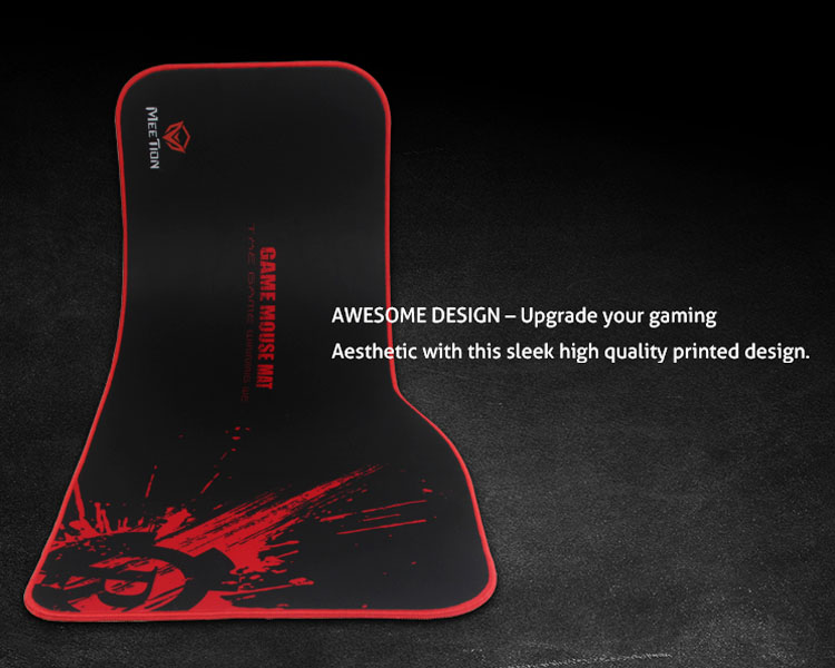 AWESOME Design-upgrade your gamingAesthetic with this sleek high quality printed design.
