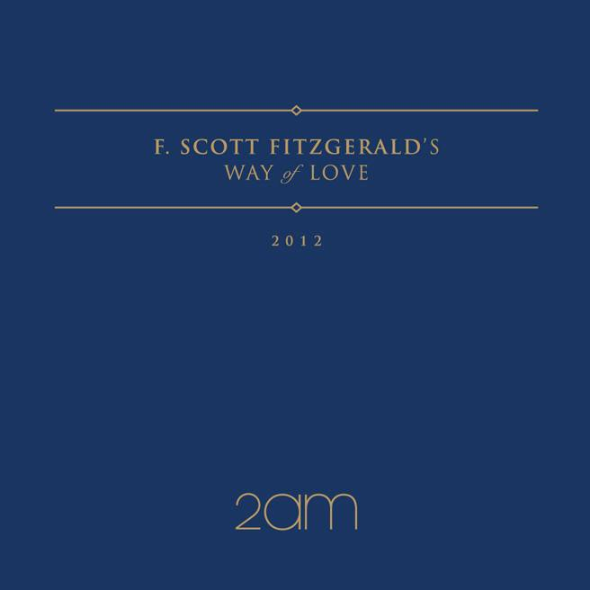 [Mini Album] 2AM - F.Scott Fitzgerald's Way Of Love