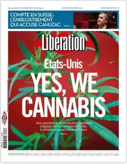 Libération Jeudi 6 décembre 2012