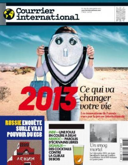 Courrier International N°1157 du 03 au 09 Janvier 2013