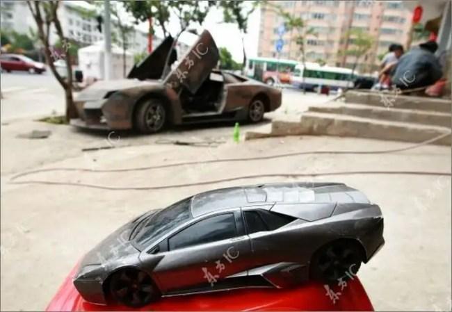 003sky - Chino Entusiasta construye Lamborghini Reventon