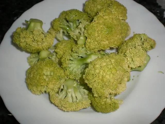 Brócoli limpio