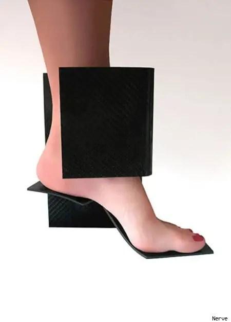 footweardesigns23 - Diseños extraños de zapatos