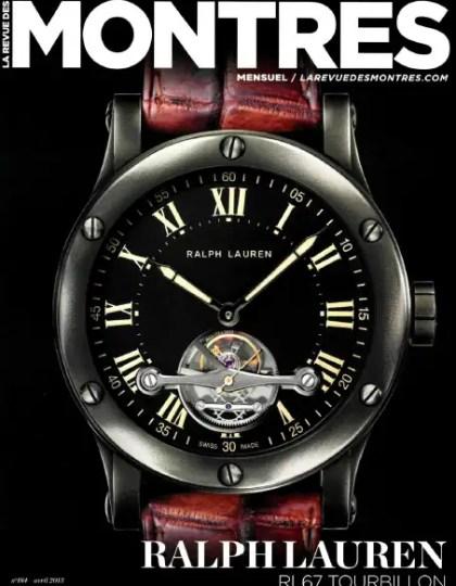 La revue des montres N°184 Avril 2013