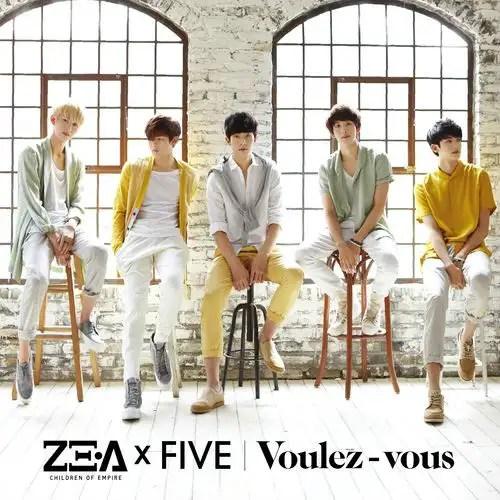 [Mini Album] ZE:A Five - Voulez-vous