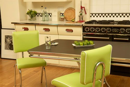 Cola-Red, retro dining furniture