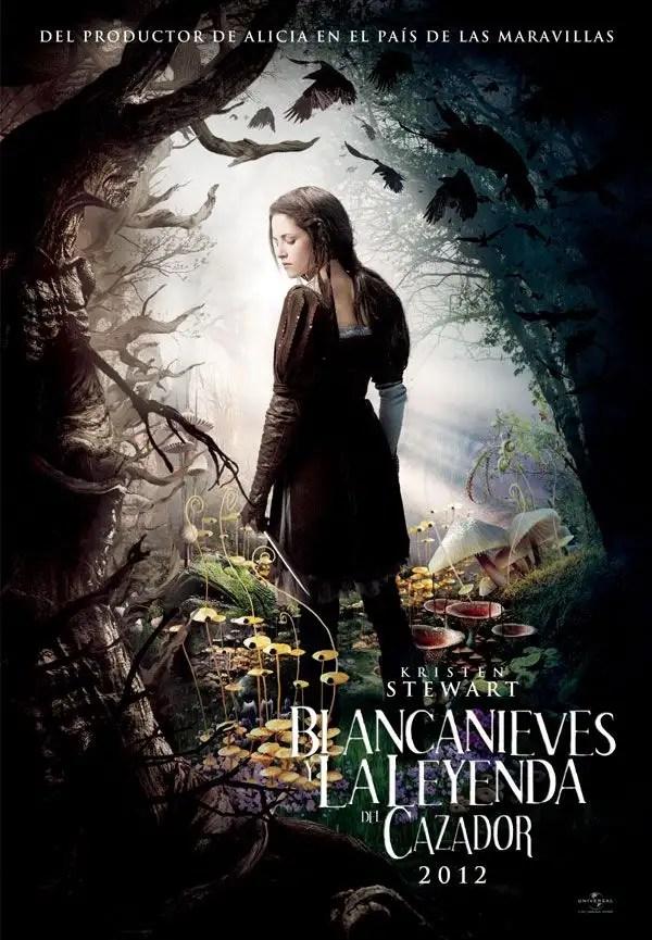 Póster de la Película Blancanieves y la leyenda del cazador