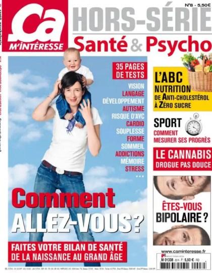 Ca m'intéresse Hors-Série Santé & Psycho N°8 Décembre 2012-Janvier 2013